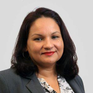 Portrait of Lightsource HR employee, Arlene Mussenden